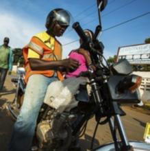 Pehn Pehn Pixels: Interactive LED Vests for Motorcycle Taxis